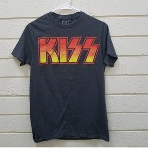 KISS Black Band Tee S